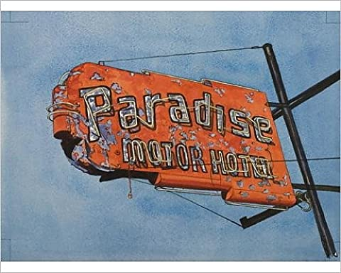 Photographic Print of Paradise Motel, 2006 (w/c on paper)
