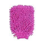 pasow Chenille Mikrofaser Premium Car Waschhandschuh Scratch Dual-seitige Mikrofaser Waschen Handschuh Reinigungstuch Handtuch für Auto, Möbel, Fenster & Glas-2Stück