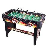 CO-Z Fußballtisch Fußball Tischkicker Tischfussball Kicker foosball soccer table Massiver Kickertisch 122cm / 48 '' MDF (gelb)