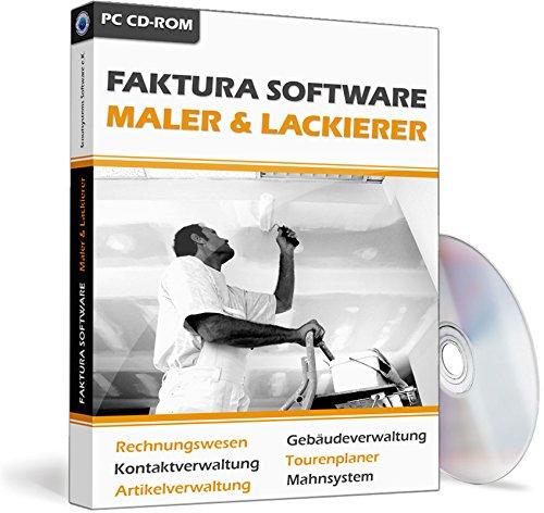 Software Maler (Faktura Software Maler & Lackierer - Rechnungsprogramm)