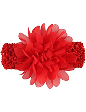 Zhhlaixing Cute Babys Headbands Girls Lace Flower Headband Hair Accessories H007