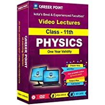 JEE Main/ Advanced & NEET Video Lectures on Physics for Class 11th (1 Year) By Career Point Kota