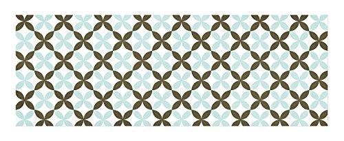 laroom-14164-alfombra-vinlica-de-cocina-baldosas-flor-140-cm-color-verde-marrn