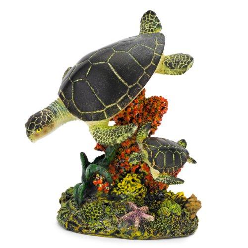 Penn-Plax Schwimmen Meer Schildkröte Aquarium Decor, mittel -