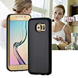 Casefashion Hülle für Samsung Galaxy S6 Edge G9250 Neue Mode Antigravitation Magische Nano Starke klebrigekraft Case She