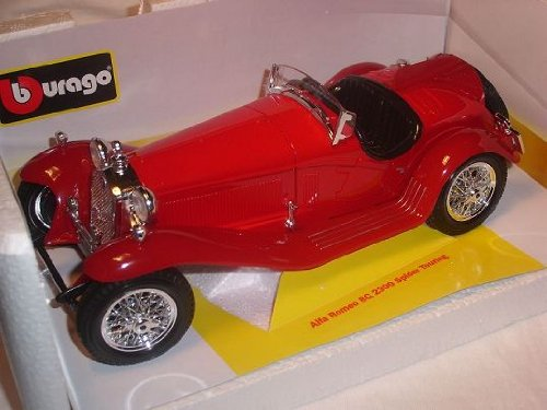 Alfa Romeo 8c 8 C 2300 Spider Touring Rot 1/18 Bburago Burago Modellauto Modell Auto (Spider 2300)