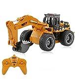 Goolsky RC Mini Excavadora Vehículo de ingeniería Camión de Juguete...