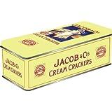 Half Moon Bay Boîte métallique à biscuits Inscription Jacob's