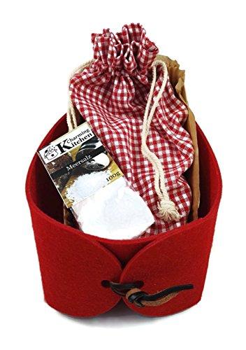 geschenkkorb brot salz rot f r neue nachbarn einweihung umzug einzug hausbau hauskauf. Black Bedroom Furniture Sets. Home Design Ideas
