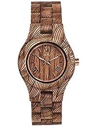 WEWOOD Reloj Analógico para Mujer de Cuarzo con Correa en Madera WW33006