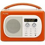 Pure Evoke Mio Paprika Radio portable Orange