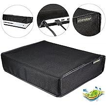eXtremeRate® Funda prueba de polvo Cubierta protectora horizontal para consola Xbox One S negro