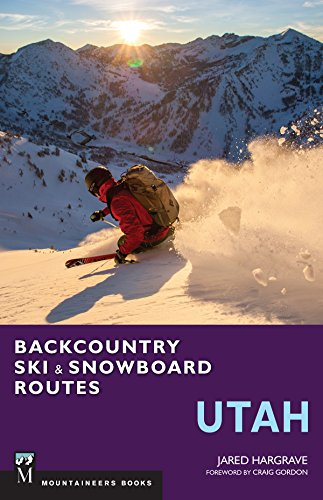 Backcountry Ski & Snowboard Routes: Utah por Jared Hargrave