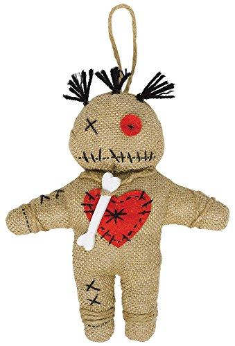 Voodoo Puppe zum Hexer Kostüm - Halloween Zubehör und ()