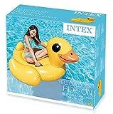 Steinbach Intex Schwimmtier Aufblastier Ente Kinder Badeinsel mit Griffen