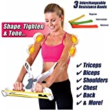 Drop WONDER ARMS Arm Strength Brawn Training Device Forearm Wrist Exerciser Force Fitness Workout Equipment