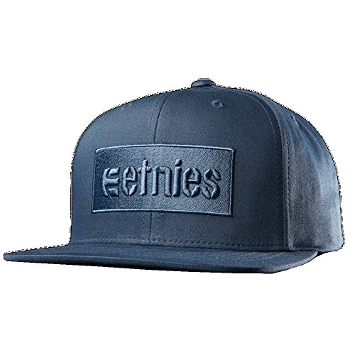 Etnies Corp Box Snapback Cap - Dark Navy