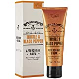 Scottish Fine Soaps Thistle & Black Pepper Aftershave Balm, 75 ml