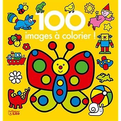 100 images à colorier ! : Le papillon - Dès 3 ans