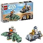LEGO Star Wars - Microfighter Capsula di Salvataggio Contro Dewback, 75228 LEGO