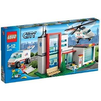 lego city 4429 jeu de construction l 39 h licopt re de secours jeux et jouets. Black Bedroom Furniture Sets. Home Design Ideas