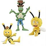 Schleich Bullyland Biene Maja Willi und Flip Spielfiguren Set 3-teilig 49456 27003 27004