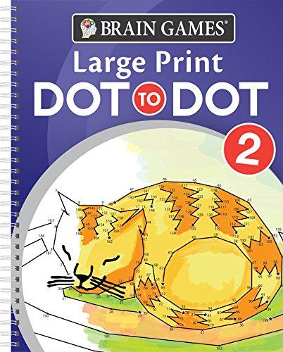 Brain Games Large Print Dot-To-Dot 2