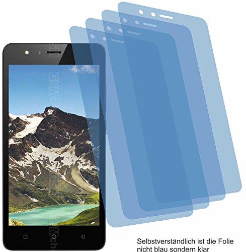 4ProTec 4X ANTIREFLEX matt Schutzfolie für TP-Link Neffos C5A Bildschirmschutzfolie Displayschutzfolie Schutzhülle Bildschirmschutz Bildschirmfolie Folie