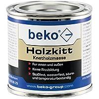 BEKO 23204 Holzkitt Knetholzmasse 110 g, Eiche-hell