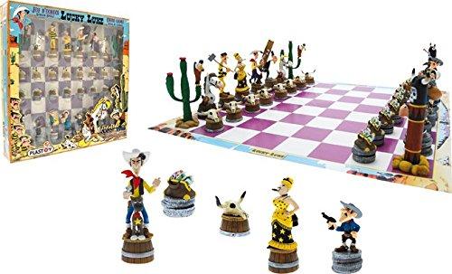Plastoy-SAS-PLA69001-Lucky-Luke-Schachspiel-Lucky-Luke-Brettspiel Plastoy SAS PLA69001 – Lucky Luke – Schachspiel – Lucky Luke, Brettspiel -