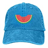 Xdevrbk Berretti da Baseball di Anguria Cappelli di Jeans per Uomo Donna unisex7