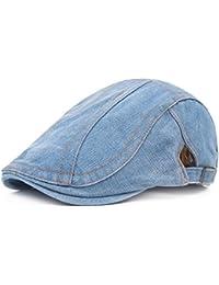 Bigboba uomo vintage denim Coppola guida Beret cappello Cabbie cappello da  uomo Newsboy tappi per le 297501731138