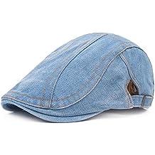 Bigboba uomo vintage denim Coppola guida Beret cappello Cabbie cappello da  uomo Newsboy tappi per le dbe493ff2746