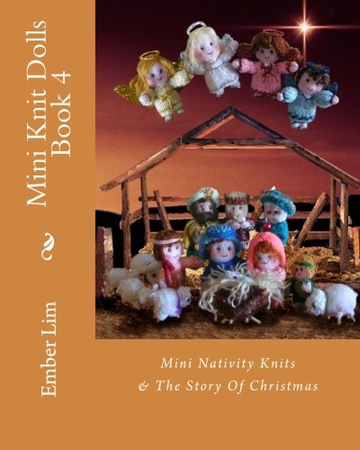 Mini Knit Dolls Book Nativity