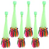 #1: Catterpillar 60 Seconds Fill & Automatic Tie Multi Colored Magic Bunch of Water Balloons (111 Balloons)