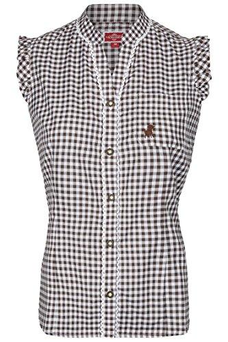 Damen Trachtenbluse Vroni (40, (Shirts Trachten)