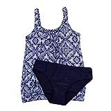 XuxMim Frauen Sommer Backless Sexy Print Bademode Beachwear Siamese Badeanzug Bikini Set