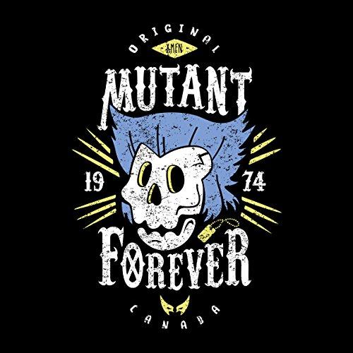 Mutant Forever Wolverine X Men Women's Hooded Sweatshirt Black