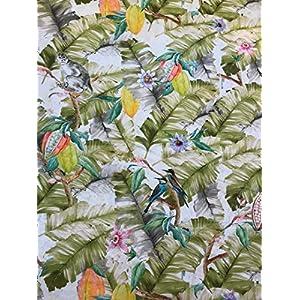 Stoffeldorado - Meterware Dekostoff, Multicolor Dschungel 280 cm Breite