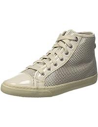 Geox D New Club E, Zapatillas Altas para Mujer