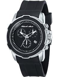 Black Dice BD 066 01 - Reloj cronógrafo de cuarzo para hombre, correa de silicona color negro