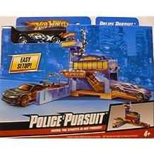 R1708 - Hot Wheels Essentials - Playsets policía Clásico