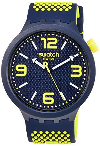 Swatch Orologio Analogico Quarzo Uomo con Cinturino in Silicone SO27N102