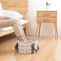 GJNVBDZSF Lavabo para Acampar, balde Cubo portátil de 10L Bolso de pie de Burbuja de Hotel de Viaje Que se Puede llenar con Agua Caliente Lavabo de balde al Aire Libre
