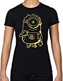 Minions - Yellow Shadow T-Shirt (Fitted) (M)
