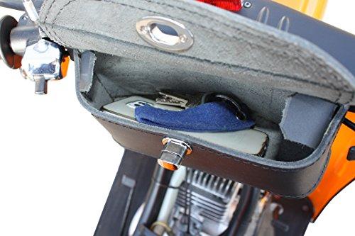Zoom IMG-2 pelle custodia borsa per manubrio
