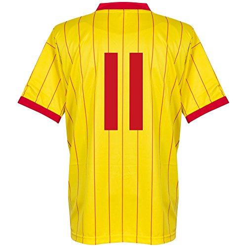 1982 Liverpool Away Retro Trikot + No11 - S