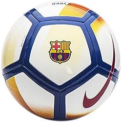 Nike FCB Nk Ptch Balón, Unisex, Rojo, S