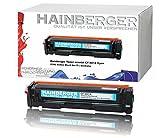 Hainberger Toner Cyan für CF401X passend für HP Color LaserJet Pro M252dw Pro 200 M252n Farblaserdrucker kompatibel zu CF-400X CF-401X CF-402X CF-403X, Color 2.300