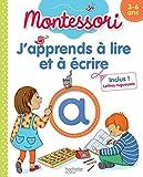 J'apprends à lire et à écrire Montessori (3-6 ans)...